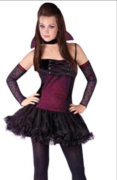 teen girls vampire goth ballerina halloween costume - Cool Halloween Costumes For Teenagers
