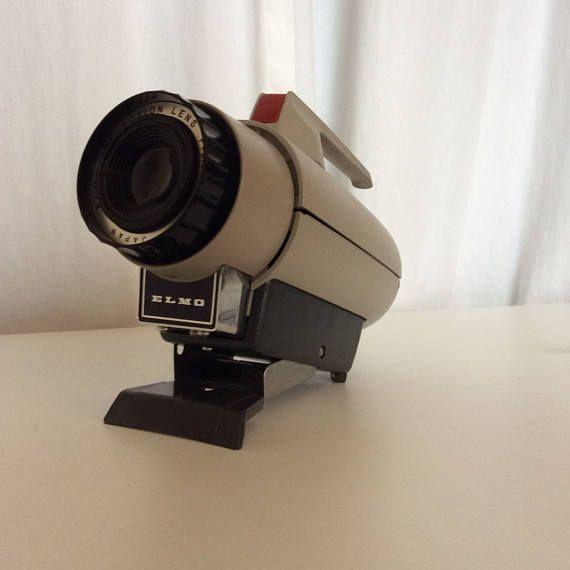 Stunning  us MM Ilford Elmo Slide Projector Model CS
