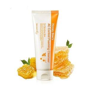Secret Key Honey Bee Honey Bee's AC Control Foaming Cleanser  Пенка очищающая для проблемной кожи с пчелиным ядом