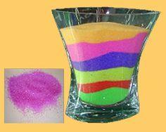recette sable color maison - Sable Colore