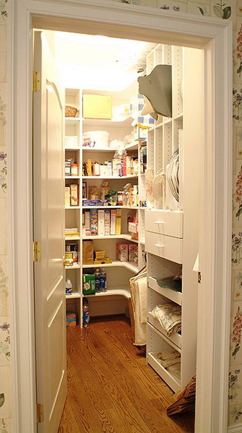 110 best Kitchen Pantries images on Pinterest   Kitchen ideas ...
