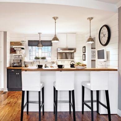Influence shabby chic en cuisine - Cuisine - Inspirations - Décoration et rénovation - Pratico Pratique
