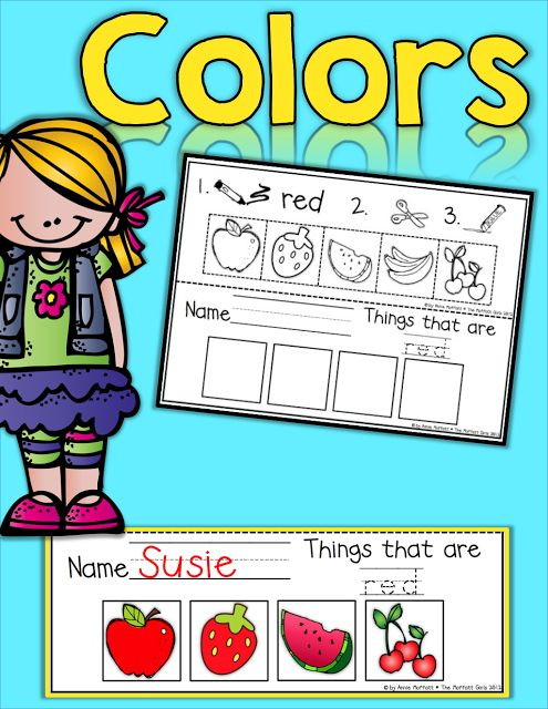 1000+ images about color theme crafts and lesson plan on Pinterest ...