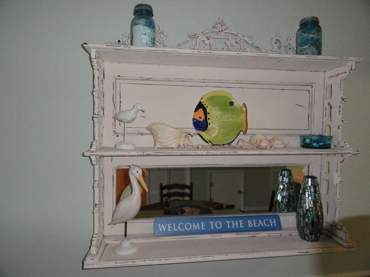 Shelf in dining area