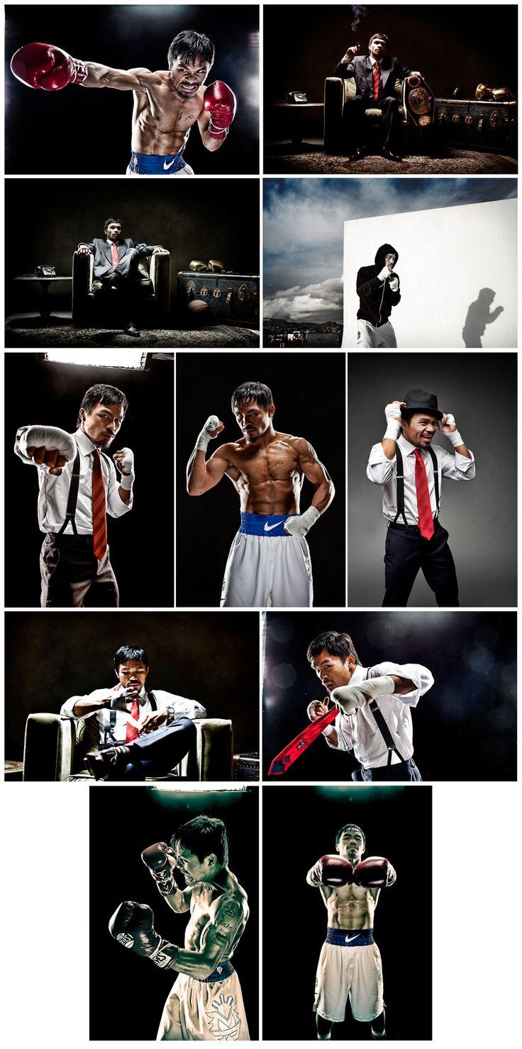 Manny Pacquiao Branding - Nate Howe Freelance Design + Art Direction