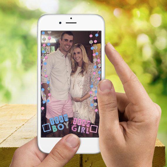 Snapchat GeoFilter Gender Reveal Team Boy / by LooksLikeGlitter