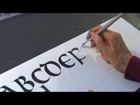 Best calligraphy tutorials images handwriting