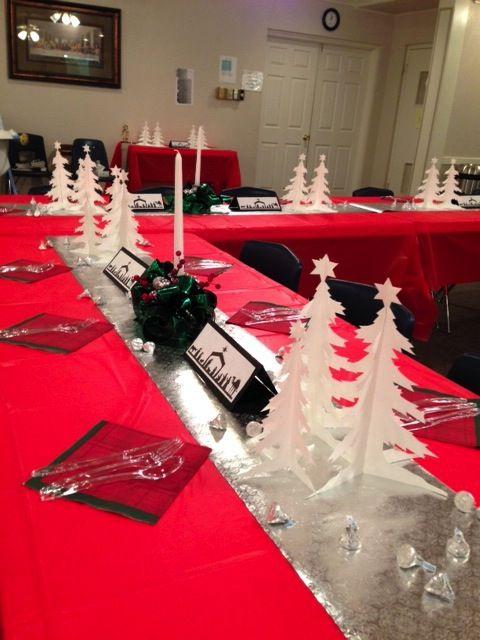 Lovely Christmas Banquet Decorating Ideas Part - 13: Church Banquet Decorations