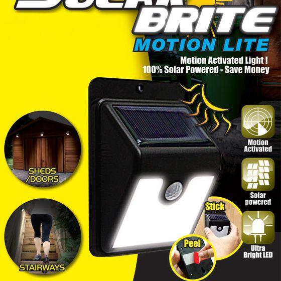 Solar Brite Motion Light