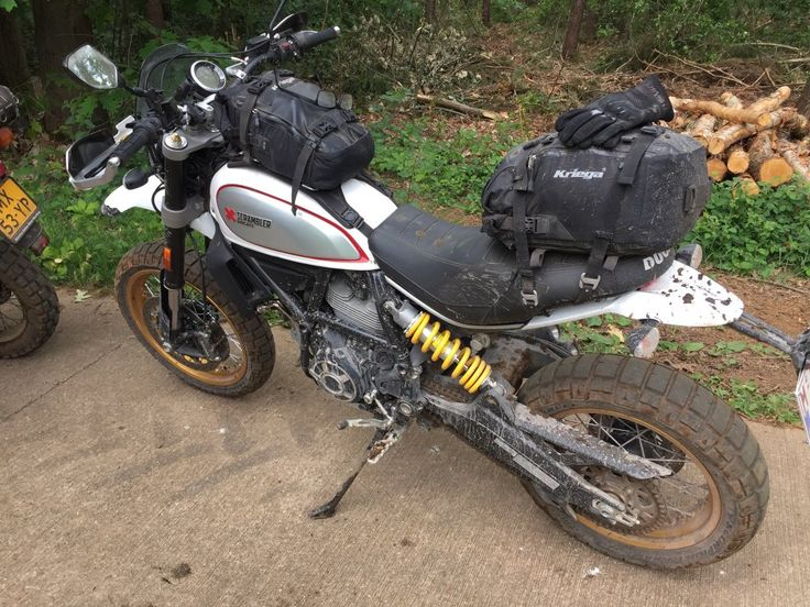 luggage solutions for the Desert Sled | Ducati Scrambler Forum