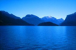 On Lake Te Anau, New Zealand