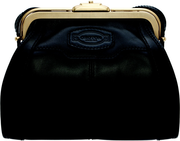 Oroton, Black Archive Mini Bag, $495, Shop 19, Ground Floor, QVB.
