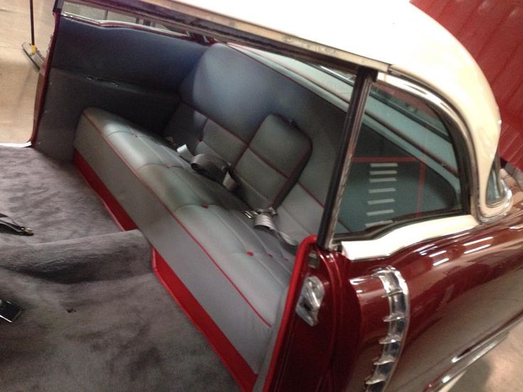 Interior Going Back In The 1956 Cadillac! #fesler