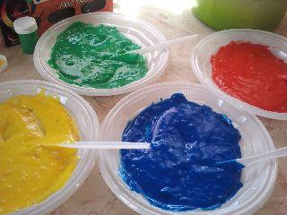 """Sarah's Inspiration: עשו זאת בעצמכם- צבעי ידיים """"אכילים"""""""