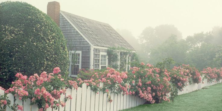 Welcome to the Nantucket cottage of your dreams. Nantucket florals need no introduction. - TownandCountryMag.com
