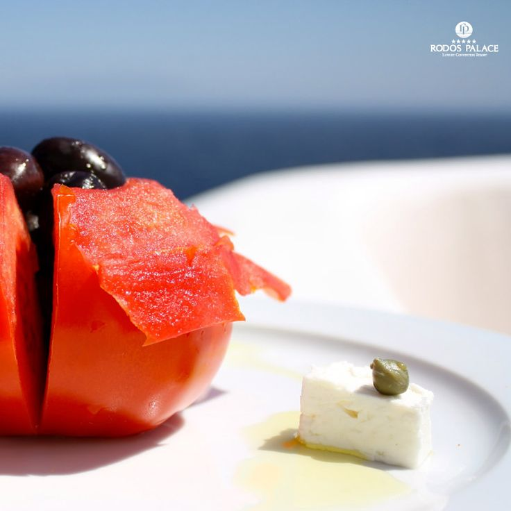 Summer in #Greece is equivalent with a journey in flavours!!  Taste the #Mediterraneanfood in Rodos island!!  www.rodos-palace.com