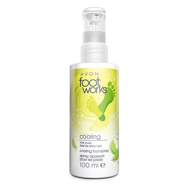 Lime illatú, hűsítő lábspray - AVON termékek