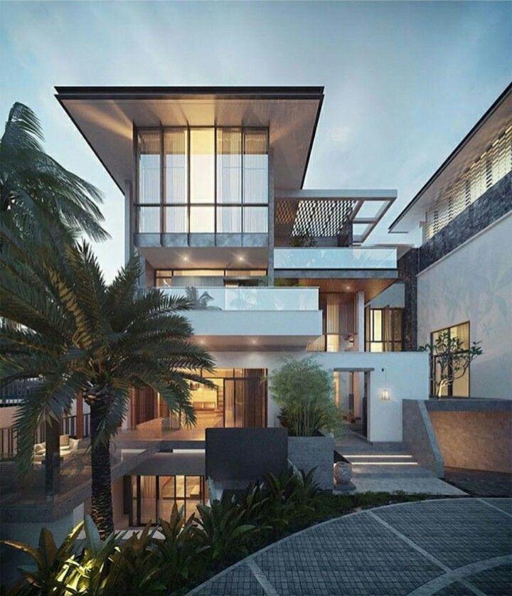 Luxury Modern Homes: 1000+ Ideas About Modern House Facades On Pinterest