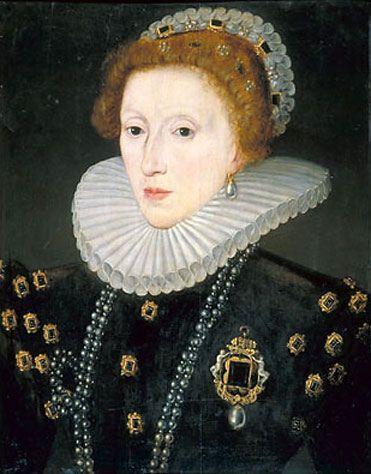 """Isabel I da Inglaterra (Elisabeth I Tudor, """"Rainha Virgem""""), não poupou violência para manter-se no poder e reduzir a cinzas o ressurgimento do Catolicismo que Filipe II e sua esposa inglesa, Maria Tudor, sonharam em meados do século XVI."""