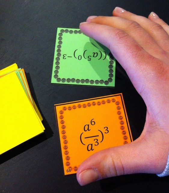 War Game for practicing basic Laws of Exponents - Power Rule, Product Rule, and Quotient Rule (differentiated)