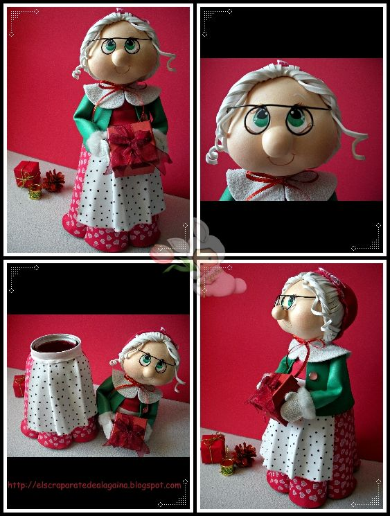 Good idea for cake topper ...El Scraparate de Alagaina: FOAMY