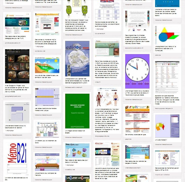 Plus de 120 liens vers des ressources pédagogiques, des applications, des animations, des outils et des astuces pour utiliser les TUIC et le TBI dans votre classe.