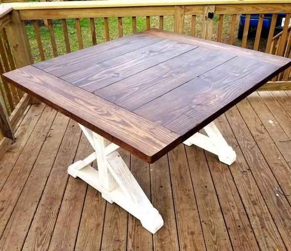 Farmhouse Table Local Pickup Delivery Only Farm Table Dining Room Farmhouse Table Solid Wood Table