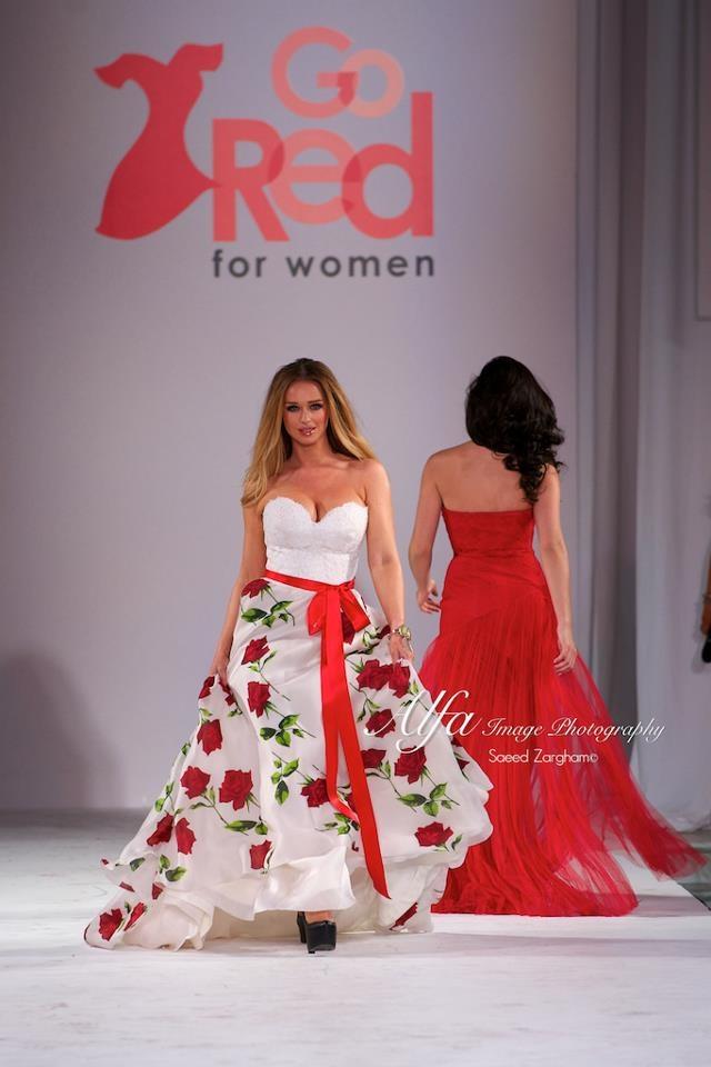 Katarina Van Derham at the LA Fashion week