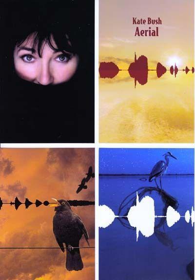 "Kate Bush, ""Aerial"", promotional postcards, 2005."