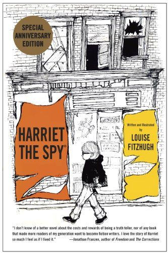 61 best childrens books with gifted protagonists images on harriet the spy 50th anniversary edition by louise fitzhugh fandeluxe Images
