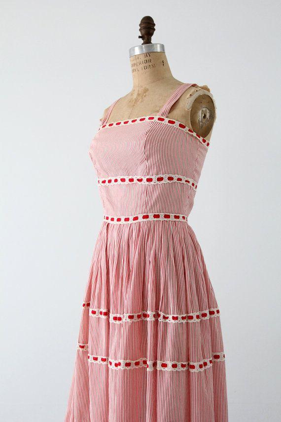 FREE SHIP vintage 50s sundress / Saks Fifth Avenue by 86Vintage86, $225.00