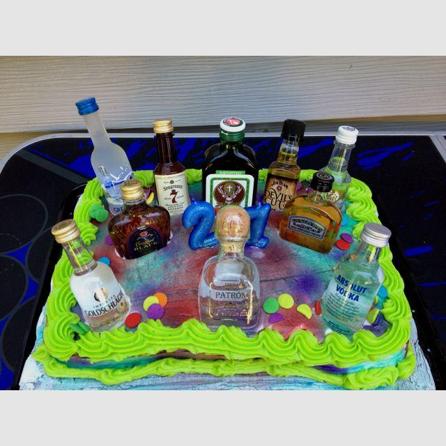 21st Birthday cake another fabulous idea