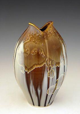 BILL-CAMPBELL-Art-Pottery-7-Vase-Pot-Crystalline-Glaze-Porcelain