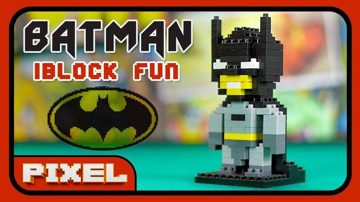 BATMAN iBlock Fun | Pixel Art