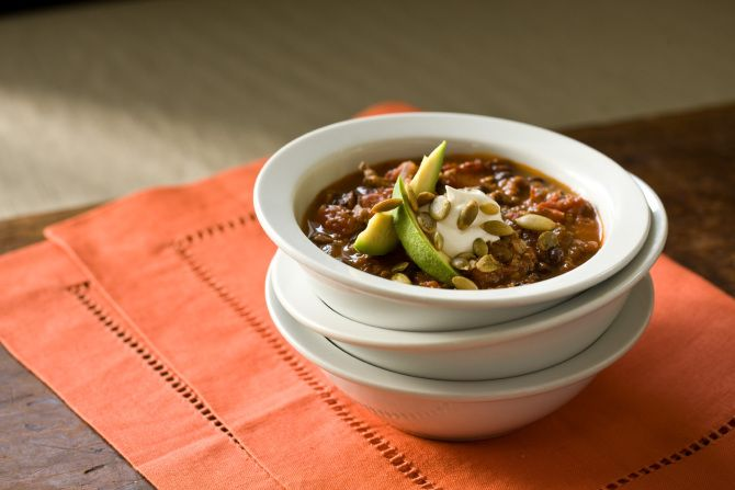 Beef and Black Bean Chili Recipe - Relish