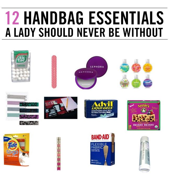 Not all bags are created equal. Some are small, some are large. However, we can all agree on one thing: The contents inside these bags are very, very important. What all does a girl need to carry? …
