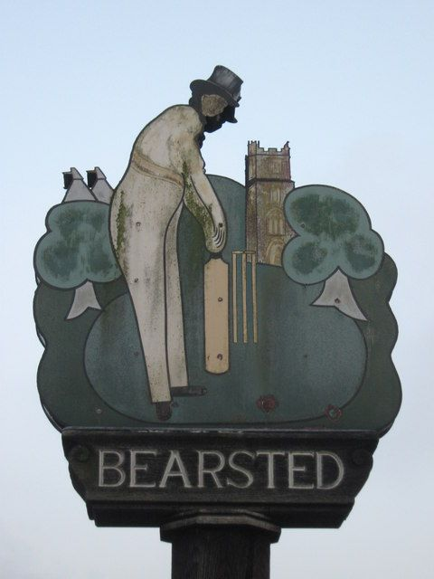 Bearsted Kent Village Sign