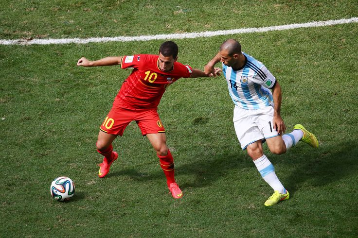 Eden Hazard Photos: Argentina v Belgium: Quarter Final - 2014 FIFA World Cup Brazil