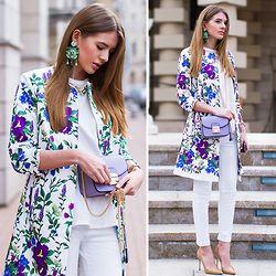 Tatiana Vasilieva - Love Republic Coat, Wengls Earrings - Italian