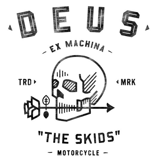 Apparel designs for the Australian custom motorcyle company, Deus Ex Machina. By www.neighborhood-studio.com
