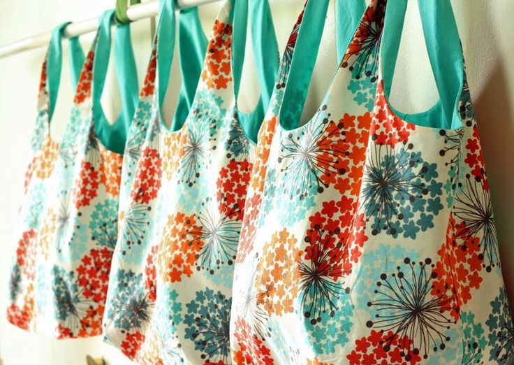 DIY Grocery Bags by Gingercake
