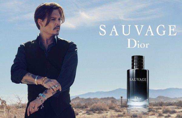 Sauvage Dior Johnny Depp