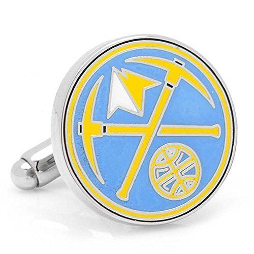 Denver Nuggets Cufflinks by FansEdge. Denver Nuggets Cufflinks with New Collectible Gift Box. One Size.