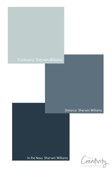 Bestselling Sherwin Williams Blues.