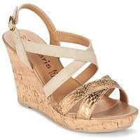 Παπούτσια Γυναίκα Σανδάλια / Πέδιλα Tamaris DELE Gold