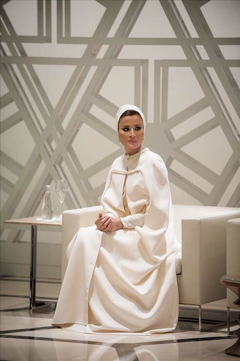 Sheikha Moza AKA the Queen of Haute Couture
