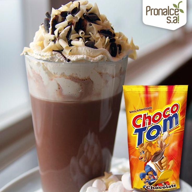 Con #Chocotom también puedes ser creativo. Esta vez intenta hacer un café moca en el que el toque de chocolate sea #Chocotom. ¿Suena rico cierto? Apenas para acompañar con dulces y #Snacks.#Pronalce #DelSur #Chocotom #cereal #breakfast #desayuno #avena #integral #salud #saludable #feliz #love #hojuelas #maiz #lonchera #snack #granola #frutosrojos #banano #deleitar #alimentos #granos