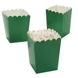 mini green popcorn boxes gt gt great for st patrick s day popcorn