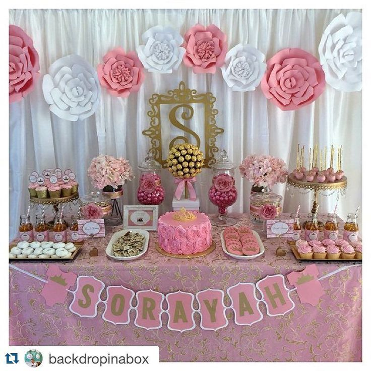 #TBT to that time one of my client set up this breath taking dessert table and…