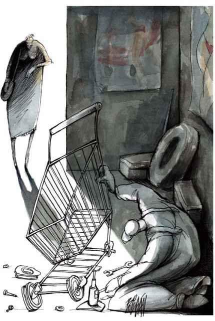 Cartoon by Angel Boligan-Mexico